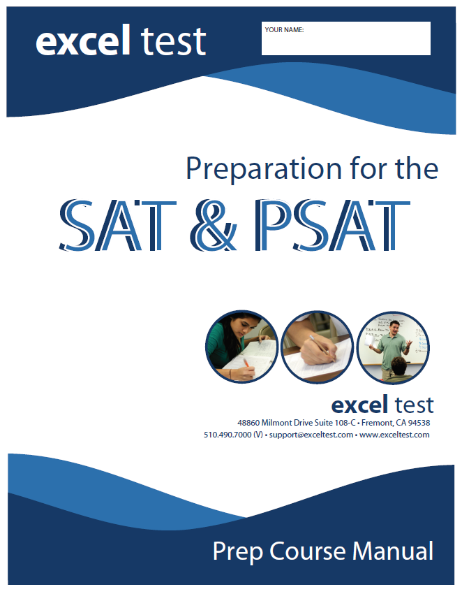 Excel SAT Manual Cover